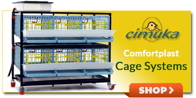 Quail, Partridge Comfortplast Cages Systems