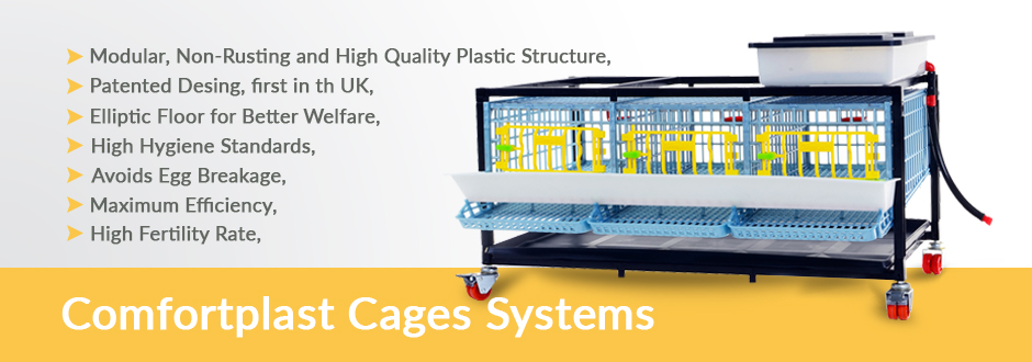 Comfortplast Cages Systems - Crescentquail
