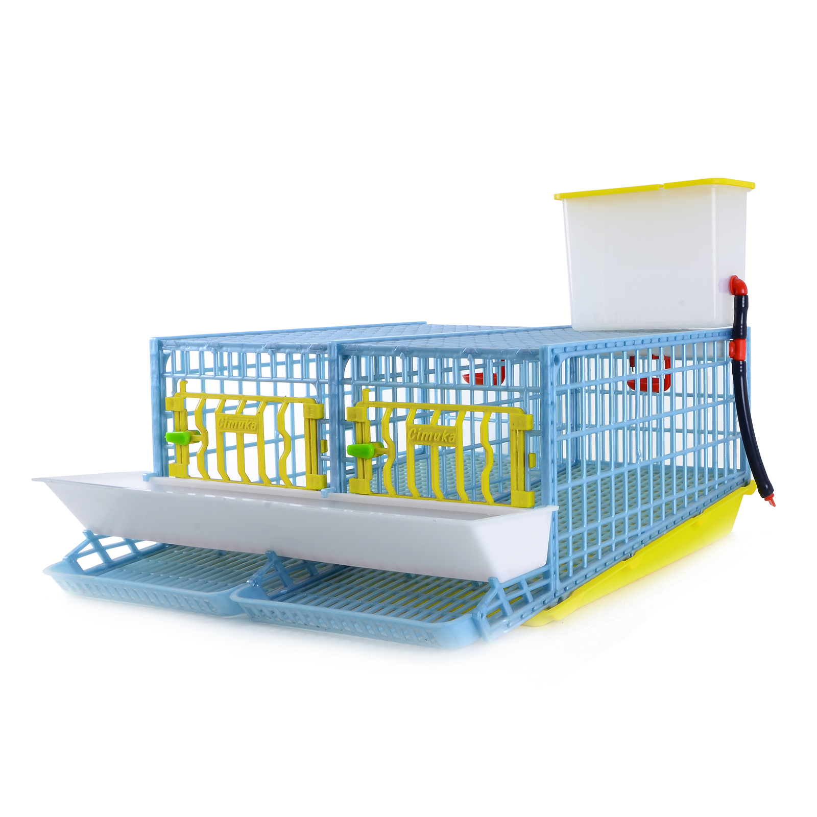 Quail Midi Cage for Egg  - 2 Section